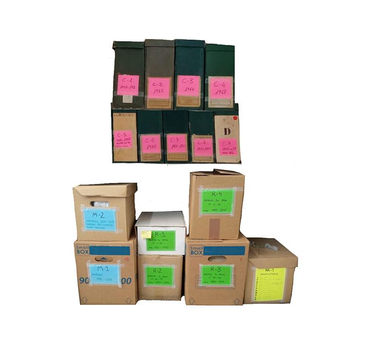 Caixes arxiu